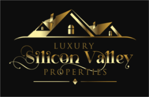 Luxury Silicon Valley Properties Black-Gold Logo